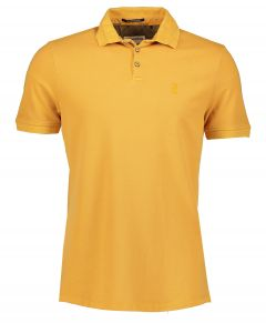 No Excess polo - modern fit - geel