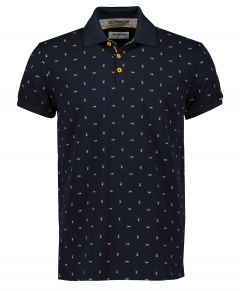 No Excess polo - modern fit - donkerblauw