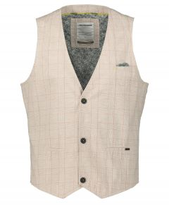 No Excess gilet - modern fit - beige
