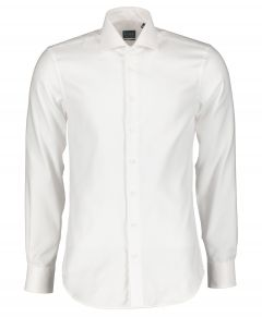 Nils overhemd - body fit - wit