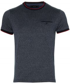 Move By Digel t-shirt - slim fit - blauw
