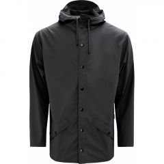 Rains regenjas - slim fit - zwart