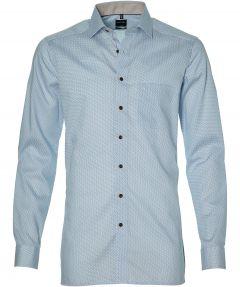 Olymp overhemd - extra lang - blauw
