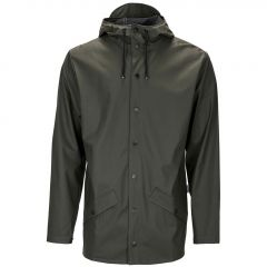 Rains regenjas - slim fit - groen