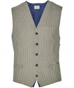 Dstrezzed gilet - slim fit - groen