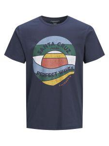 Jack & Jones t-shirt - regular fit - blauw