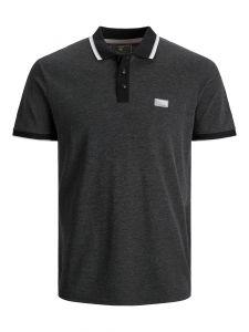 Jack & Jones polo - regular fit - zwart