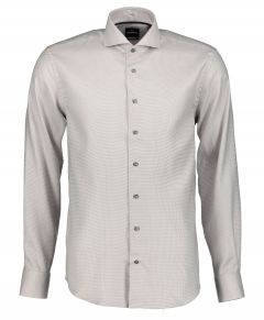 Jac Hensen overhemd - modern fit - bruin