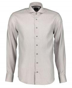 Jac Hensen overhemd - extra lang - bruin