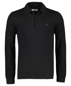 No Excess polo - modern fit - zwart