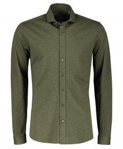 Nils overhemd - slim fit - groen