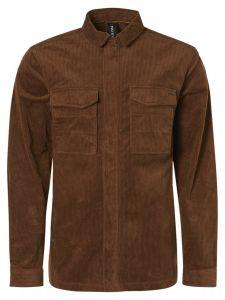 No Excess overhemd - modern fit - bruin