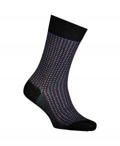 Falke sokken - Uptown Tie - zwart