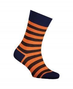 Falke sokken - Sensitive Mapped Lined- oranje