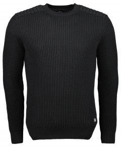 Jac Hensen pullover - extra lang - zwart