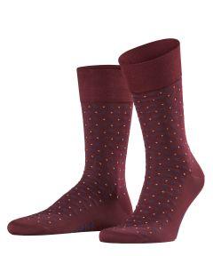 Falke sokken - Sensitive Jabot - bordeaux