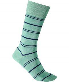 Falke sokken - Stripe washed - groen