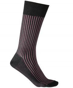Falke sokken - Oxford stripes - roze