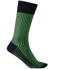 Falke sokken - Oxford stripes - groen