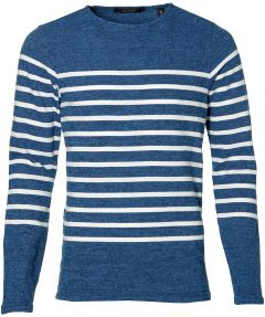 Scotch & Soda pullover - slim fit - blauw