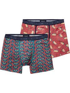 Scotch & Soda boxers 2-pack - rood