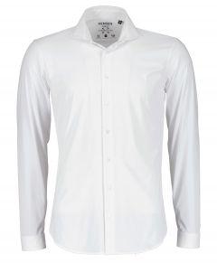 Hensen overhemd - body fit - wit