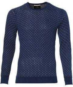 sale - Scotch & Soda pullover - slim fit - blauw