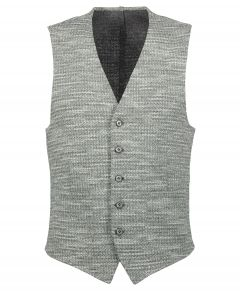 Nils gilet - slim fit - grijs
