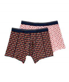 Scotch & Soda boxershorts 2 pack - roze