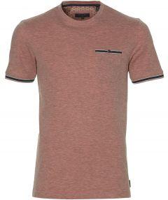 Ted Baker t-shirt - slim fit - koraal