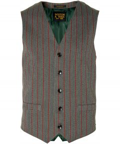 Scotch & Soda gilet - slim fit - grijs