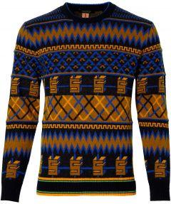 Scotch & Soda pullover- slim fit - blauw