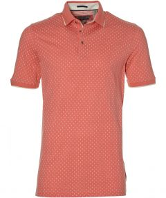 Ted Baker polo - extra lang - zalm