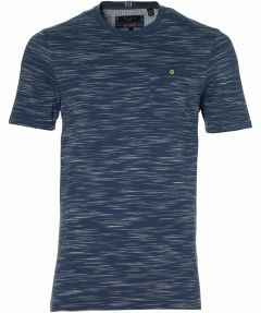 Ted Baker t-shirt - extra lang - blauw