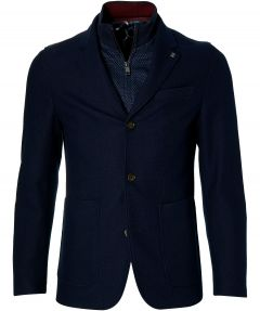 Ted Baker jack - slim fit - blauw