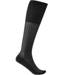 Falke kniesokken - shadow - grijs