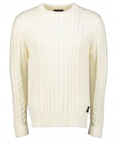 Scotch & Soda pullover - slim fit - creme