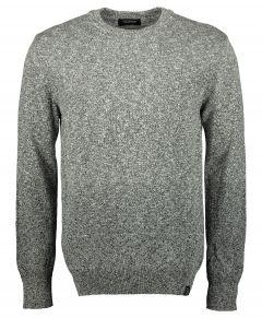 Scotch & Soda pullover - slim fit - grijs