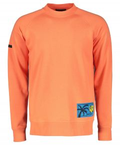 Scotch & Soda sweater - slim fit - oranje