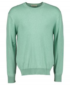 Scotch & Soda pullover - slim fit- groen