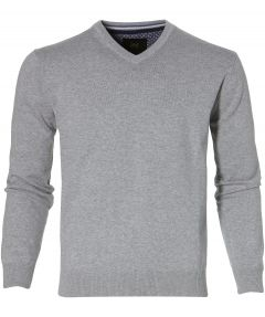 sale - Jac Hensen pullover - modern fit - grijs