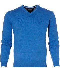 sale - Jac Hensen pullover - modern fit - blauw