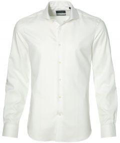 sale - Nils overhemd - extra lang - wit