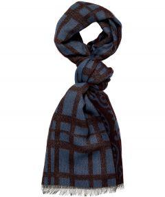 Jac Hensen shawl - bordo