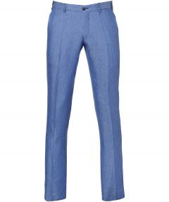sale - Hensen pantalon - slim fit - blauw