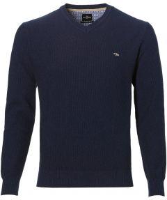 sale - Jac Hensen pullover - moden fit - blauw