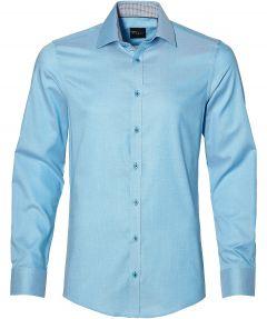 Venti overhemd - slim fit - petrol