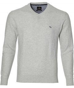 Jac Hensen pullover - modern fit - grijs