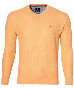 Jac Hensen pullover - modern fit - oranje.