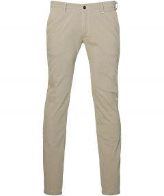Four.ten pantalon - slim fit - beige